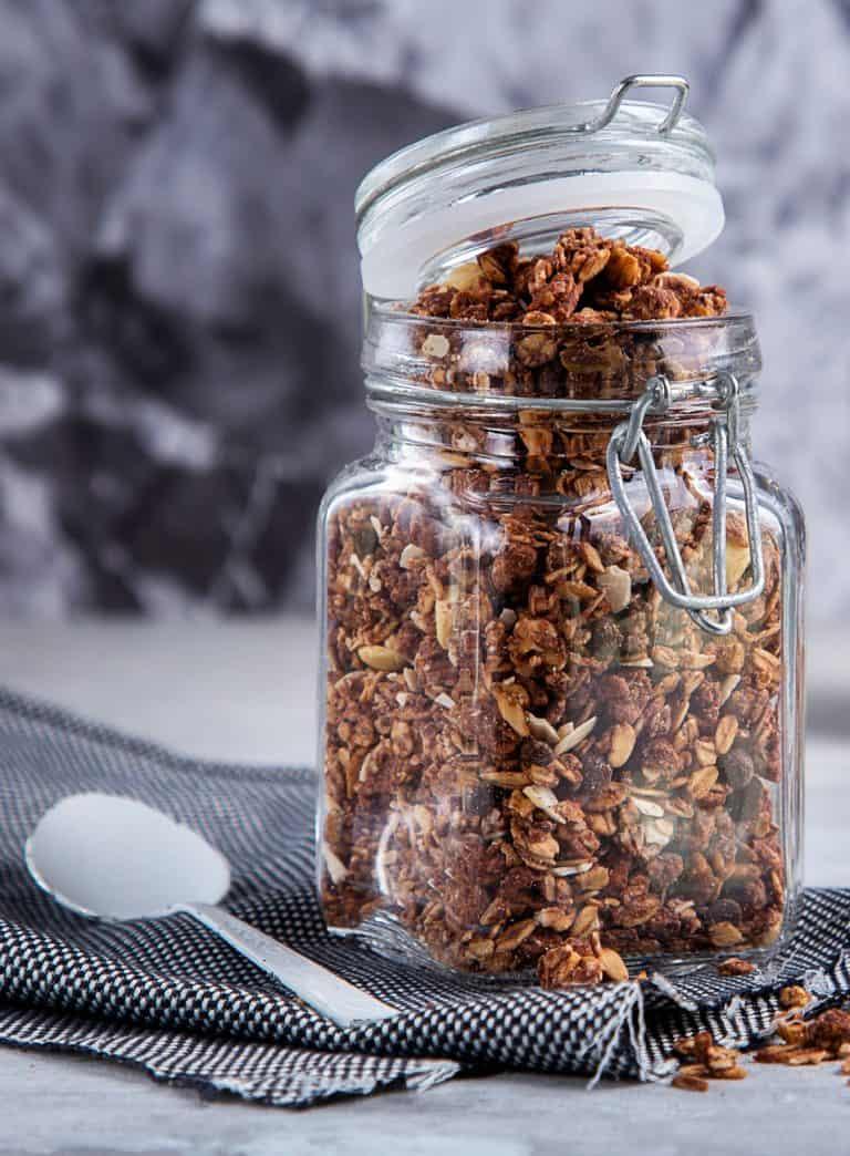 Low Protein Crunchy Granola