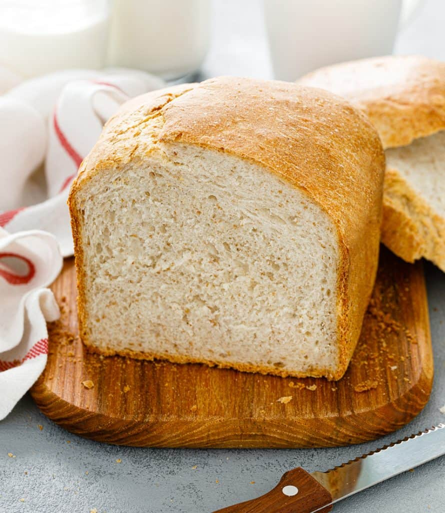 Low Protein Homemade Bread Loaf