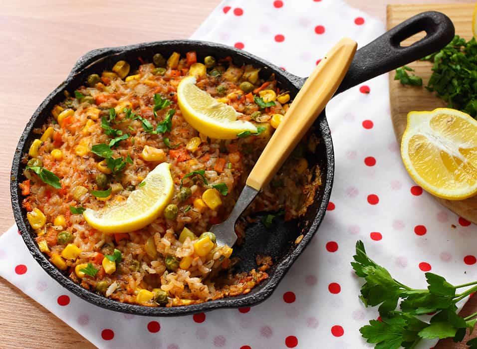 Low Protein Spanish Paella