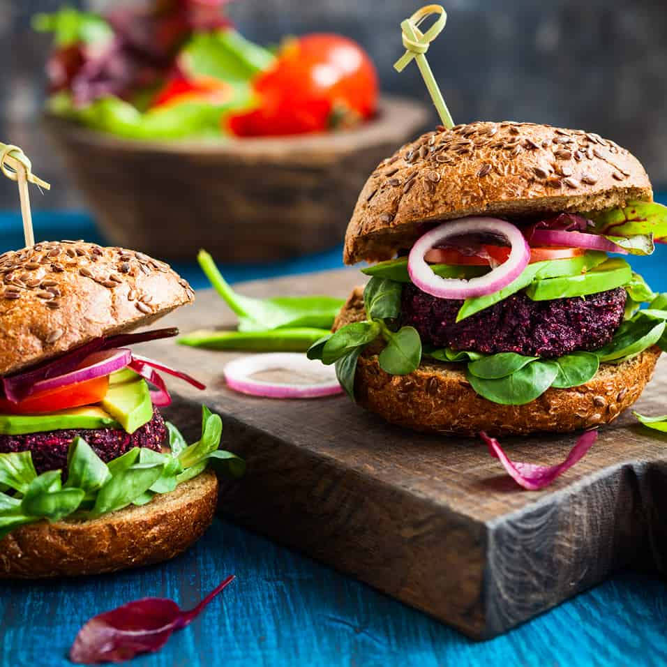 Low Protein Sun Dried Tomato Vegetable Burgers