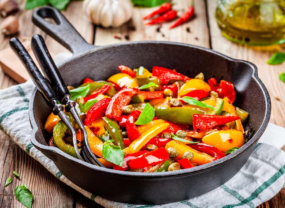 Low Protein Sweet and Sour Capsicum Stir Fry