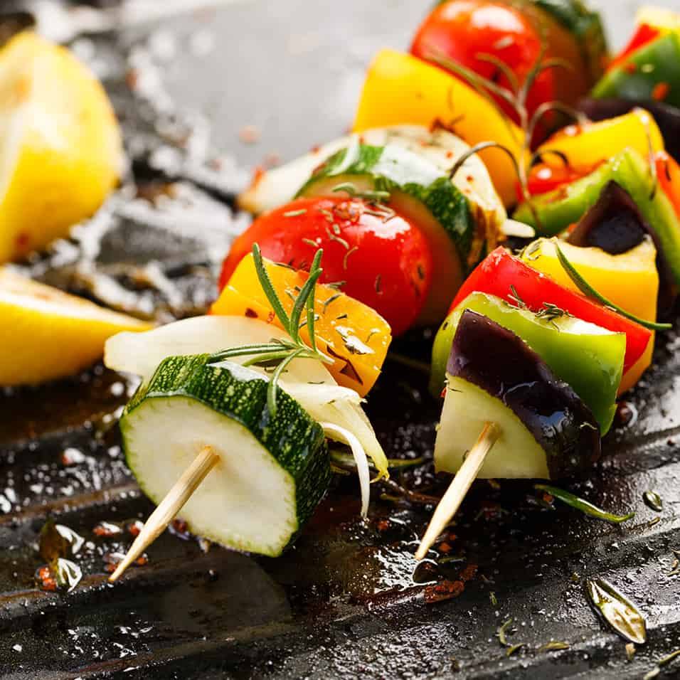Low Protein Veg Kebabs