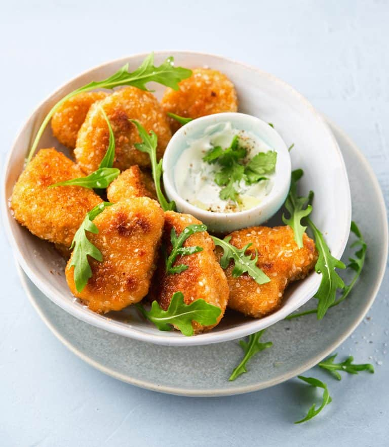 Low Protein Veggie Nuggets