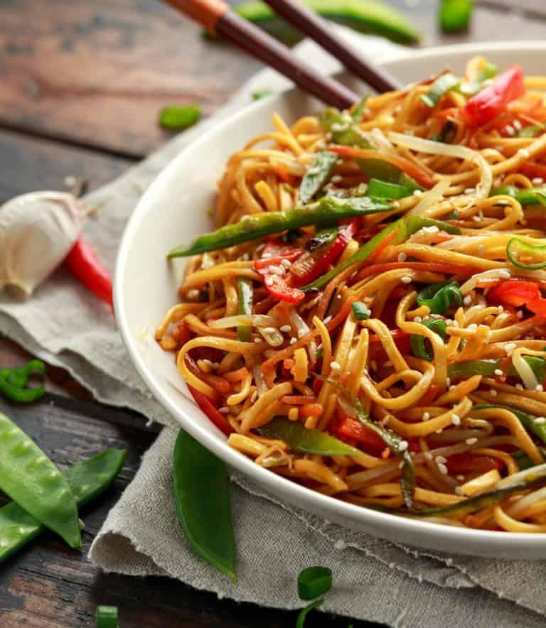 Low Protein Vegitarian Chow Mein