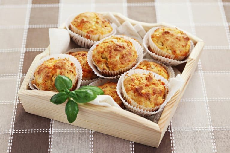 muffins with ham and cheese