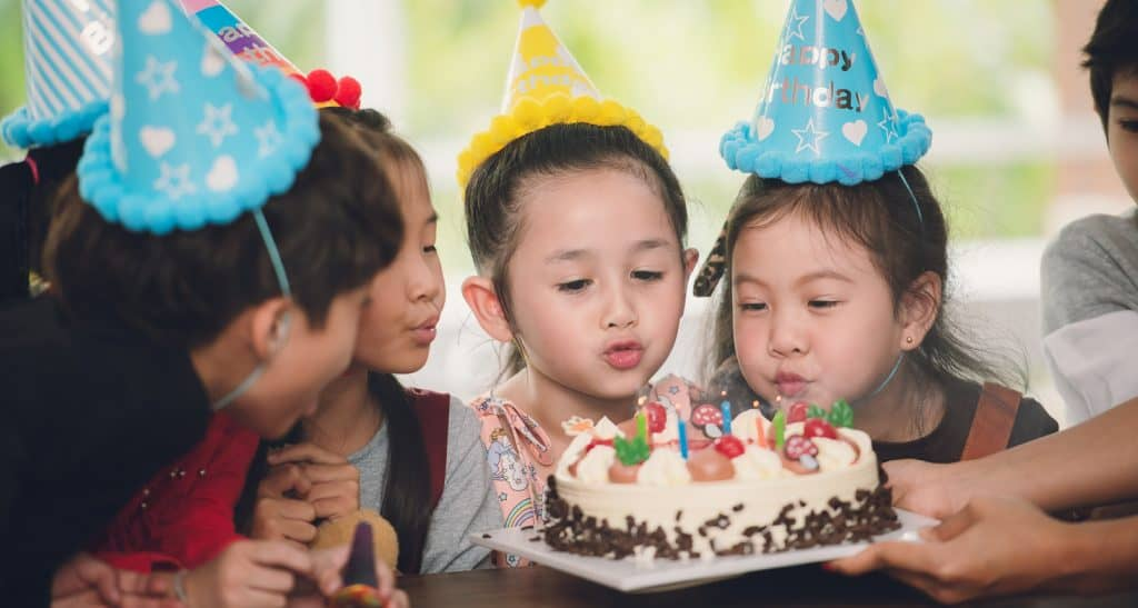 Article 12 Childrens birthday parties
