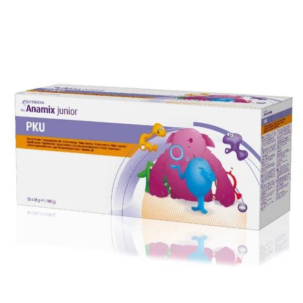PKU Anamix Junior Powder Orange Box